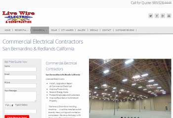 Commercial Electrical Contractors San Bernardino